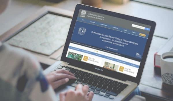 Maestrías en línea UNAM