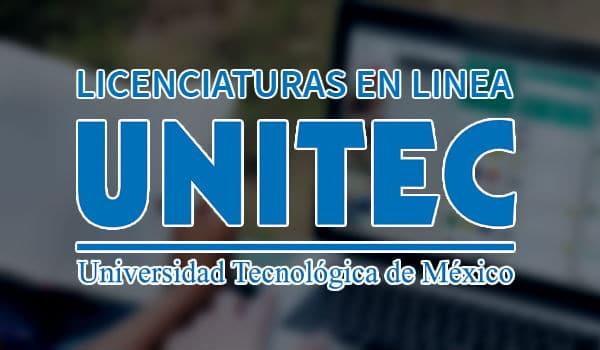 Licenciaturas en línea UNITEC.