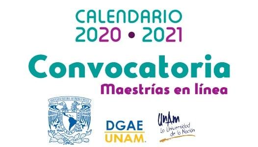 Convocatoria Maestrías en línea UNAM